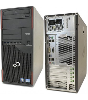 REF-FUJI0036W - PC rigenerato FUJITSU P910 Tower 3.2 GHz - Processore Intel Core i5-3340 - ram 8GB SSD 120GB + 500 HHD
