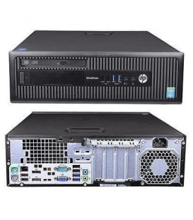 REF-HP0121MW - PC Desktop rigenerato HP 800 G1 SFF - Intel Core i5-4570 - Ram 8 GB - SSD 240 GB - Windows 10 Pro UPD