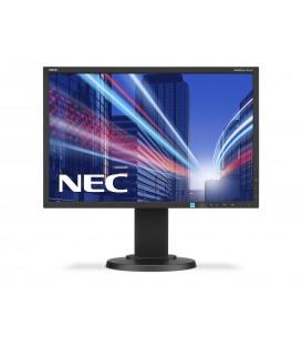 """REF-NEC8001 - Monitor 22"""" NEC E222W/E223W Rigenerato Nero - 1680 x 1050"""